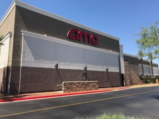 After Painting Contractors Painted an AMC Theater