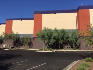 New paint on amc building