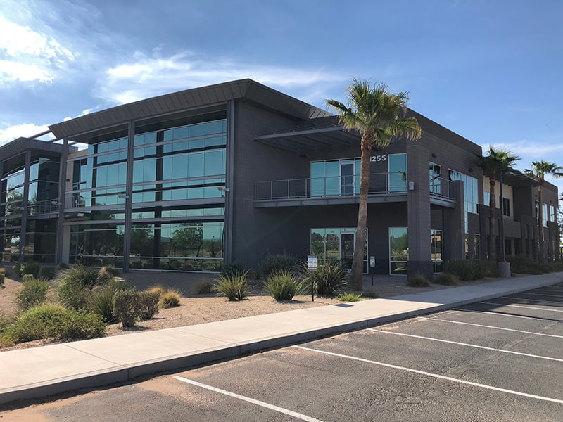 street view of commercial building number 1255 in metro phoenix