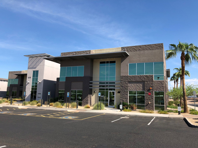 Recently painted two story office complex