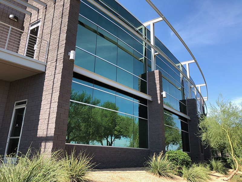 Exterior of a Commercial Building in Phoenix